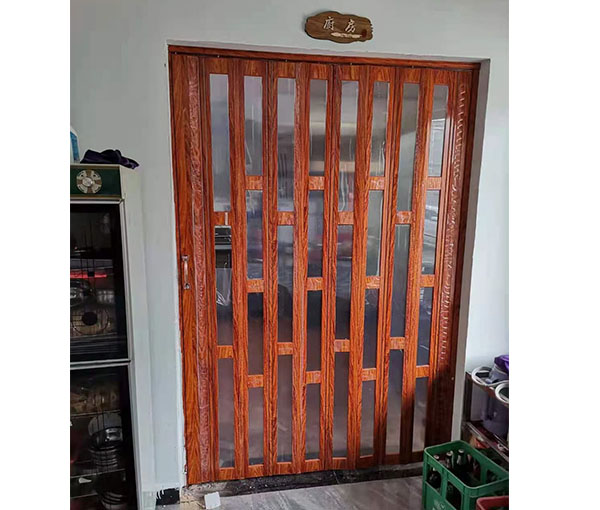 水晶折叠门
